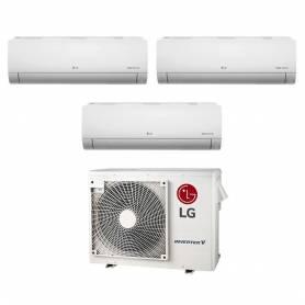 Condizionatore LG Trial Split Inverter Libero 9+9+12 9000+9000+12000 Btu A++ MU3M21.UE3