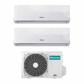 Condizionatore Inverter Hisense New Comfort Dual Split 9+12 9000+12000 Btu 2AMW46U4SGD1 A++