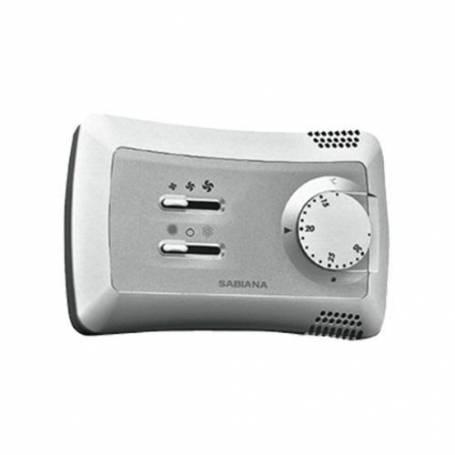Comando a Parete Ventilconvettore Sabiana 9066630 WM-T Termostazione (on-off) Ventilatore Commutazione Manuale Tre Velocita'