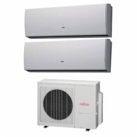 Condizionatore Fujitsu Dual Split LU 9000+12000 9+12 Btu Inverter AOYG18LAC2 A++