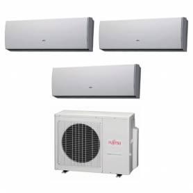 Condizionatore Fujitsu Trial Split Inverter 9000+9000+12000 9+9+12 Btu LU A++ AOYG24LAT3