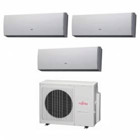 Condizionatore Fujitsu Trial Split Inverter 12000+12000+12000 12+12+12 Btu LU A++ AOYG24LAT3