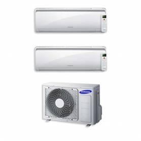 Condizionatore Samsung Dual Split 9000+12000 9+12 Btu Inverter AJ040FCJ2EH/EU A++