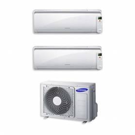 Condizionatore Samsung New Style Dual Split 9000+12000 9+12 Btu Inverter AJ040FCJ2EH/EU A++
