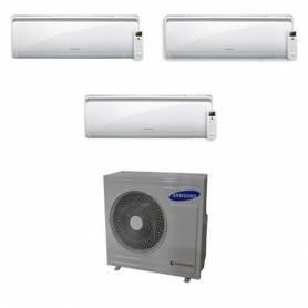 Condizionatore Samsung New Style Trial Split Inverter 7+9+9 7000+9000+9000 Btu AJ052FCJ3EH/EU A+