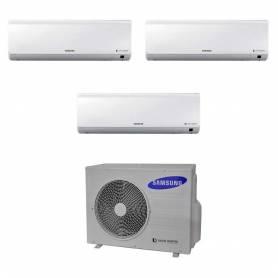 Condizionatore Samsung New Style Plus Trial Split Inverter 9000+9000+9000 9+9+9 Btu AJ052FCJ3EH/E A+