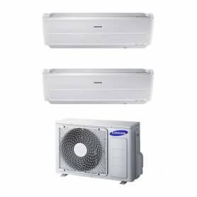 Condizionatore Samsung Dual Split Windfree Inverter 12000+12000 12+12 Btu Wi-Fi A++ AJ050FCJ2EH