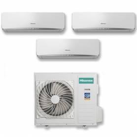 Condizionatore Hisense Trial Split Inverter 7+7+7 7000+7000+7000 Btu A++