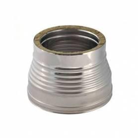 Aumento Doppia Parete Acciaio Inox Diametro Interno 150 F -180 M Esterno 200 M-230 F