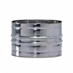 Raccordo Maschio - Maschio Canna Fumaria Acciaio Inox AISI 304 0,5 mm Diametro 130 mm