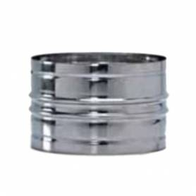 Raccordo Maschio - Maschio Canna Fumaria Acciaio Inox AISI 304 0,5 mm Diametro 160 mm