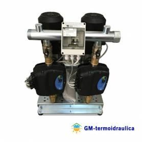 Gruppo di Pressurizzazione Idrica Antincendio Sollevamento Acqua Autoclave Ebara Modello 2GPE EVMSG5 Codice 2001880121 2 Elettropompe 2 HP 1,5 kW 2 Unita Controllo Inverter Uso Condominiale Industriale