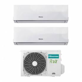 Condizionatore Inverter Hisense New Comfort Dual Split 12+12 12000+12000 Btu 2AMW50U4RXA R-32 A++