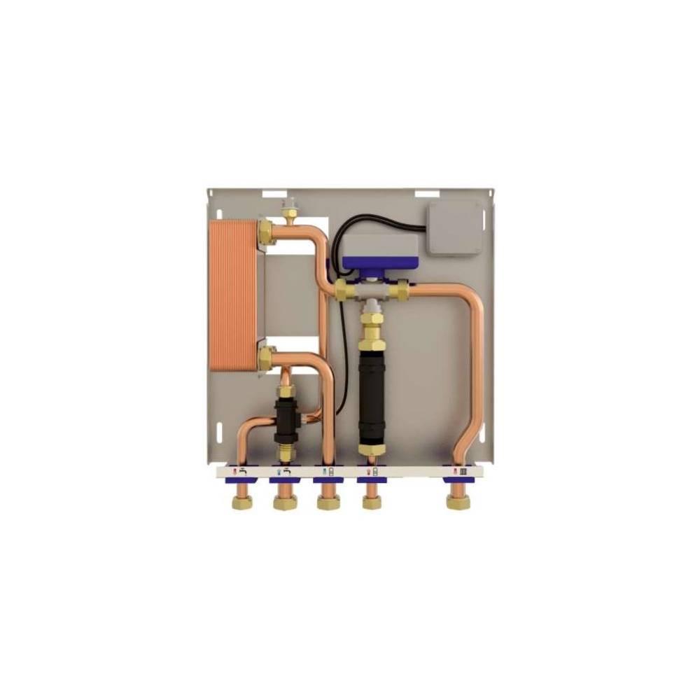 Scambiatore per riscaldamento produzione acqua calda sanitaria - Stufa a legna acqua calda ...