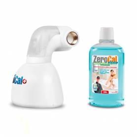 """Filtro Anticalcare per Caldaia Dosatore Gel ZEROCAL Basic Linea 1/2"""" - 1/2"""" M Ricarica Omaggio 500 Ml"""