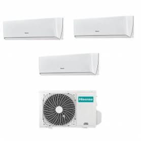 Climatizzatore Hisense Energy trial split con inverter e Wifi da 9000+12000+12000 Btu