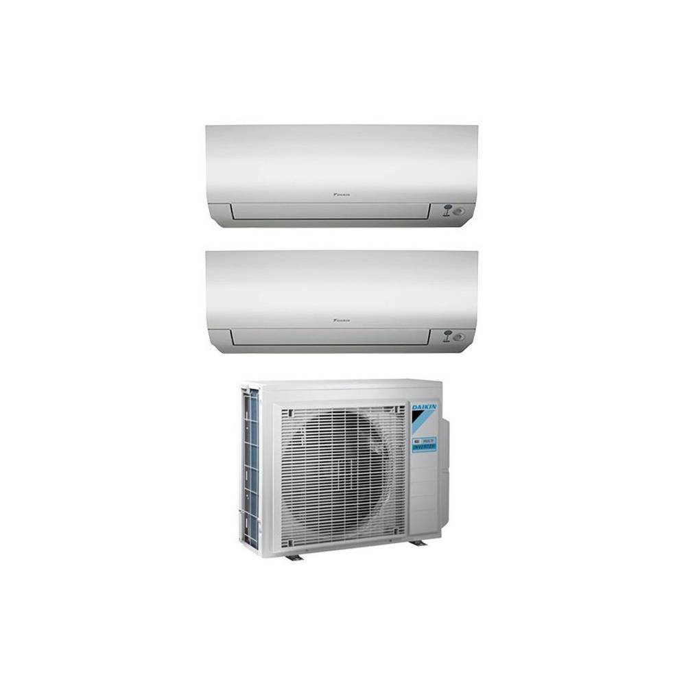Condizionatore daikin dual split inverter 12 12 12000 for Condizionatore doppio split