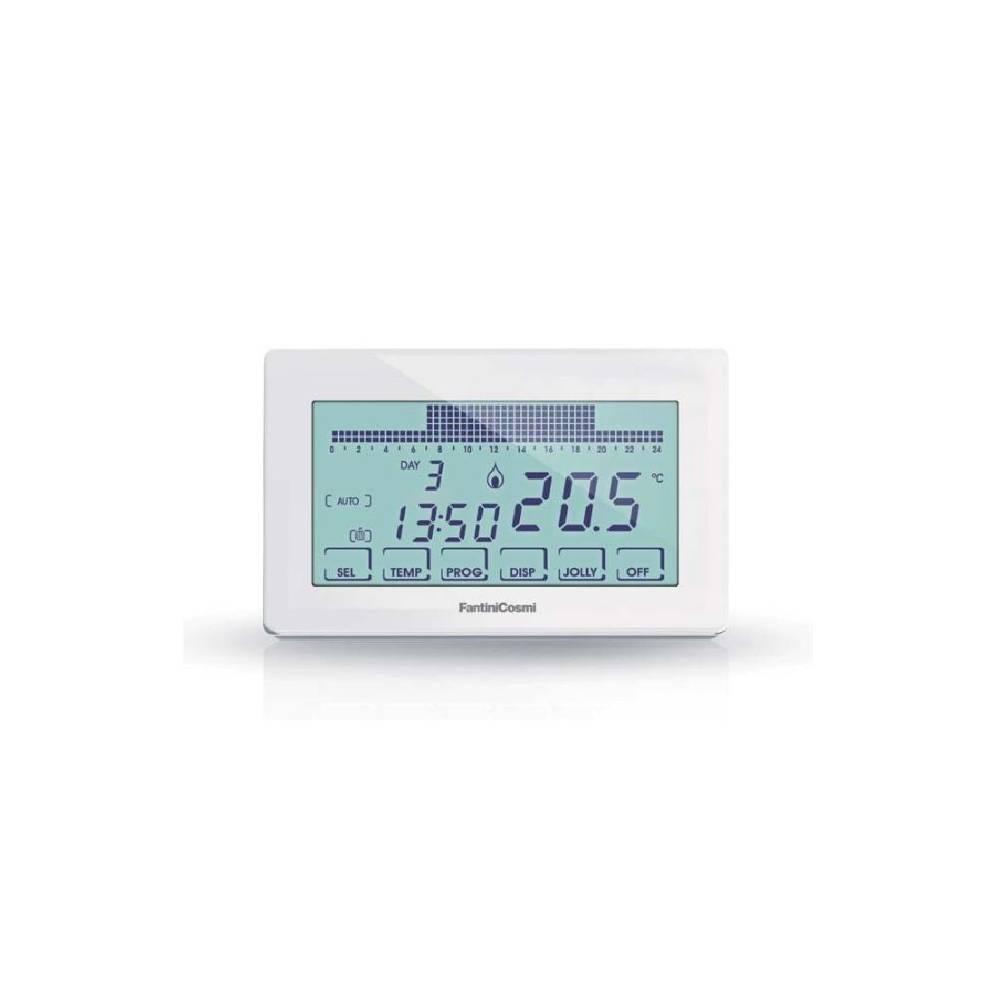Cronotermostato settimanale touchscreen fantini cosmi for Cronotermostato fantini cosmi ch180