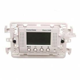 Termostato Ambiente Digitale Elettronico da Incasso Fantini Cosmi C44 B Bianco