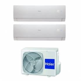 Condizionatore Haier Nebula Green White Dual Split Inverter 7+9 7000+9000 Btu A++ Wi-Fi 2U40S2SC1FA