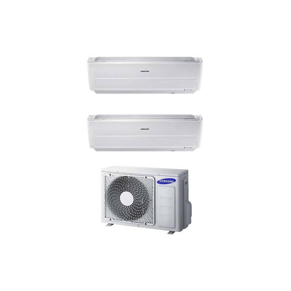 Condizionatore Dual Split Con Inverter 7000+12000 Samsung Windfree Pure R32  Wifi Con AJ040NCJ2EG