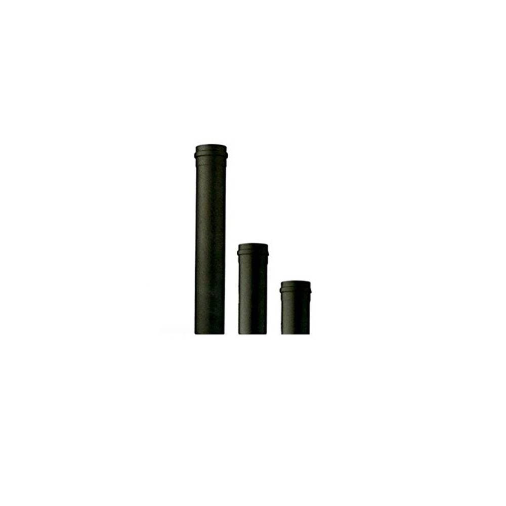 Tubo Per Scarico Fumi Nero 2 0 Mt 200 Cm D 80 Per Stufa A Pellet