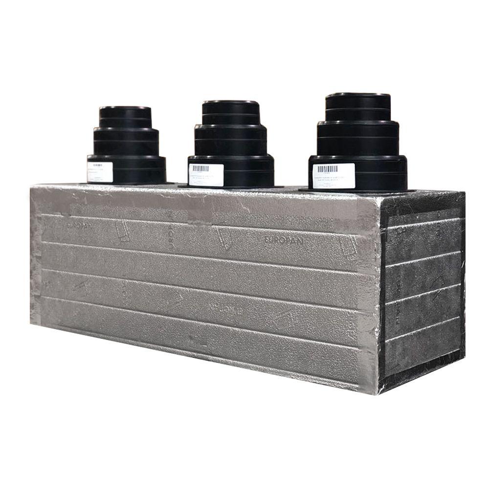 Aria Condizionata Canalizzata plenum aria condizionata per condizionatore canalizzato coibentato a 3 zone  personalizzato
