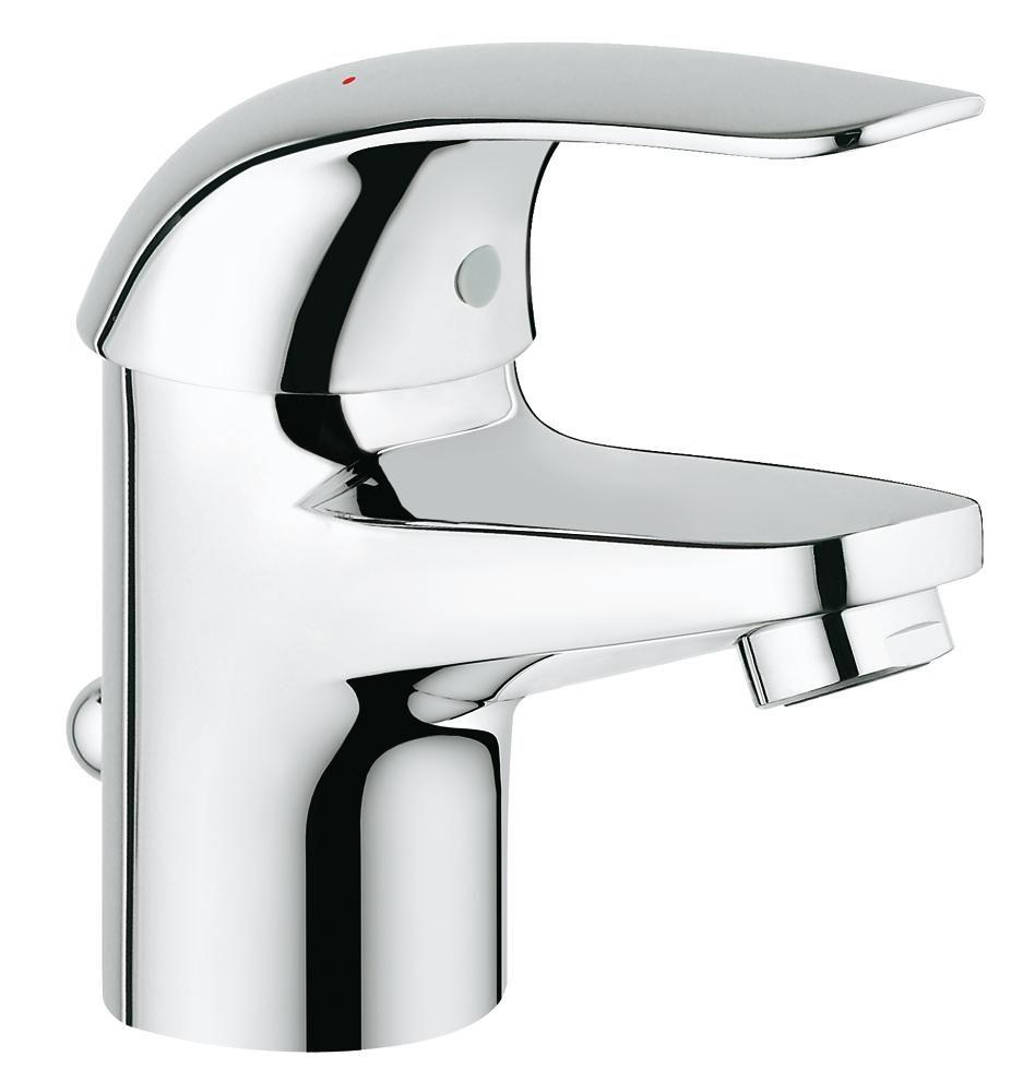 """GROHE MISCELATORE MONOCOMANDO DA 1 1//4/"""" per lavabo EUROSMART 32926002"""