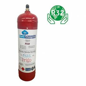 BOMBOLA GAS REFRIGERANTE RICARICABILE WIGAM R427A R22 R422 DA KG. 0.85