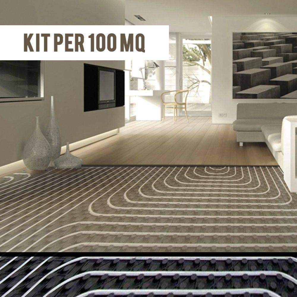 Impianto a pavimento riscaldamento pannelli radianti bampi - Prezzo al metro quadro di un immobile ...