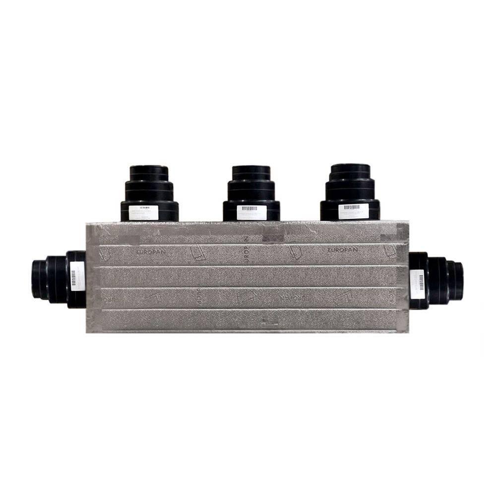 Plenum aria condizionata per condizionatore canalizzato coibentato a 5 zone personalizzato