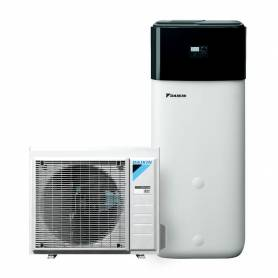 Pompa di calore aria acqua Daikin Altherma 3 ad R32 da 8 kw con accumulo da 300 lt A++