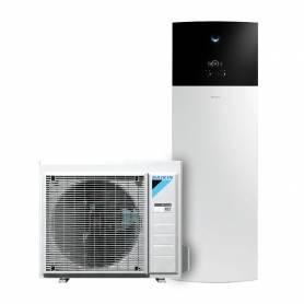 Pompa di calore aria acqua Daikin Altherma Integrated R32 da 8 kw con serbatoio per acqua calda sanitaria da 230 lt