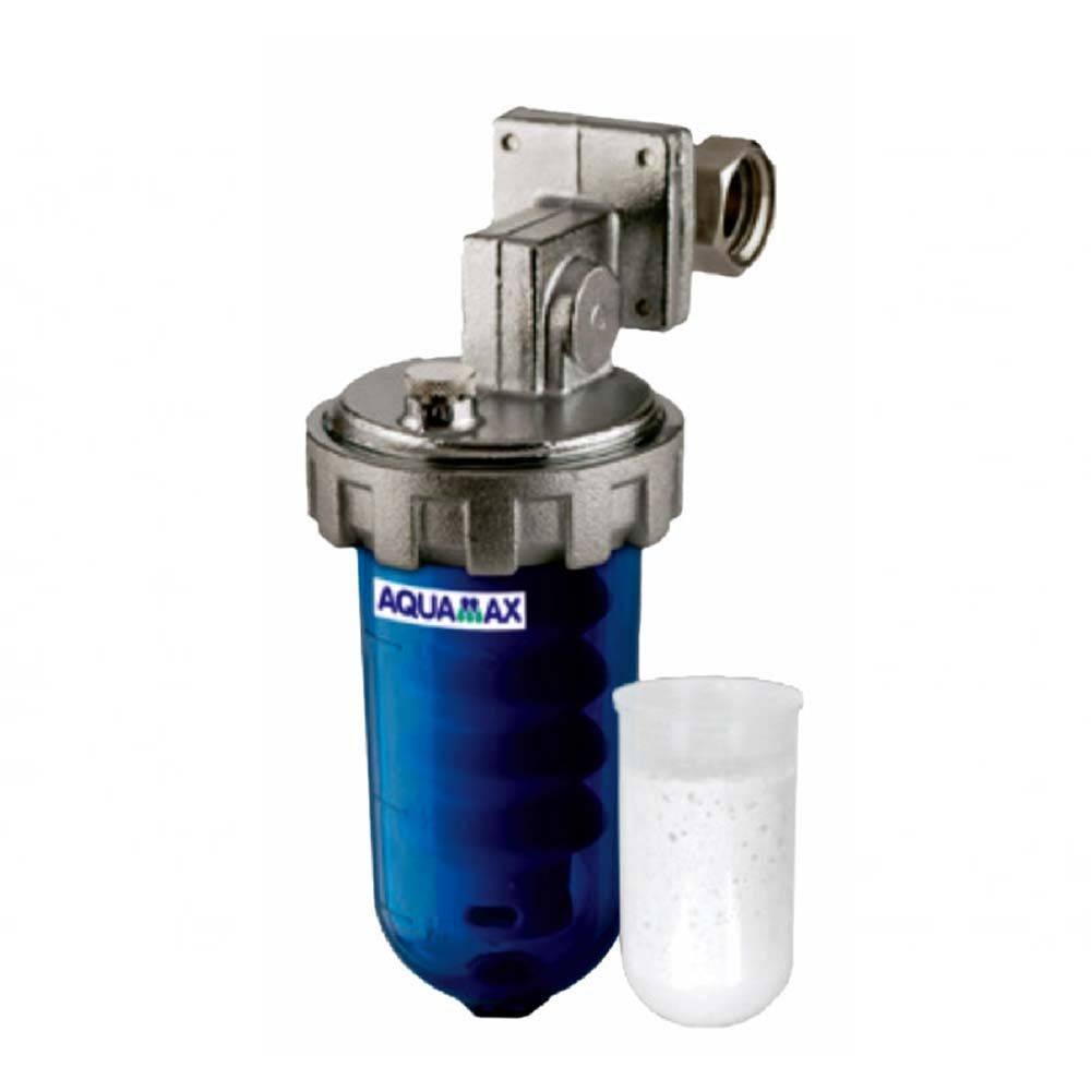 """Filtro acqua anticalcare di polifosfati aquamax Dosamax per caldaie e scaldini da 1/2""""-1/2"""""""