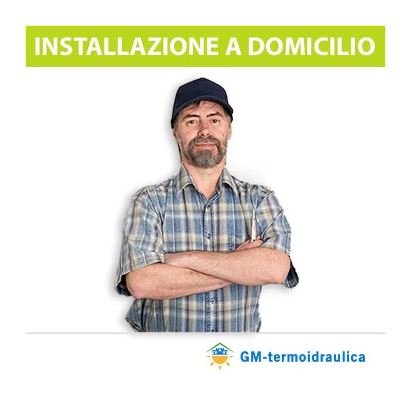 Installazione Dual split con impianto completo zona Nord italia