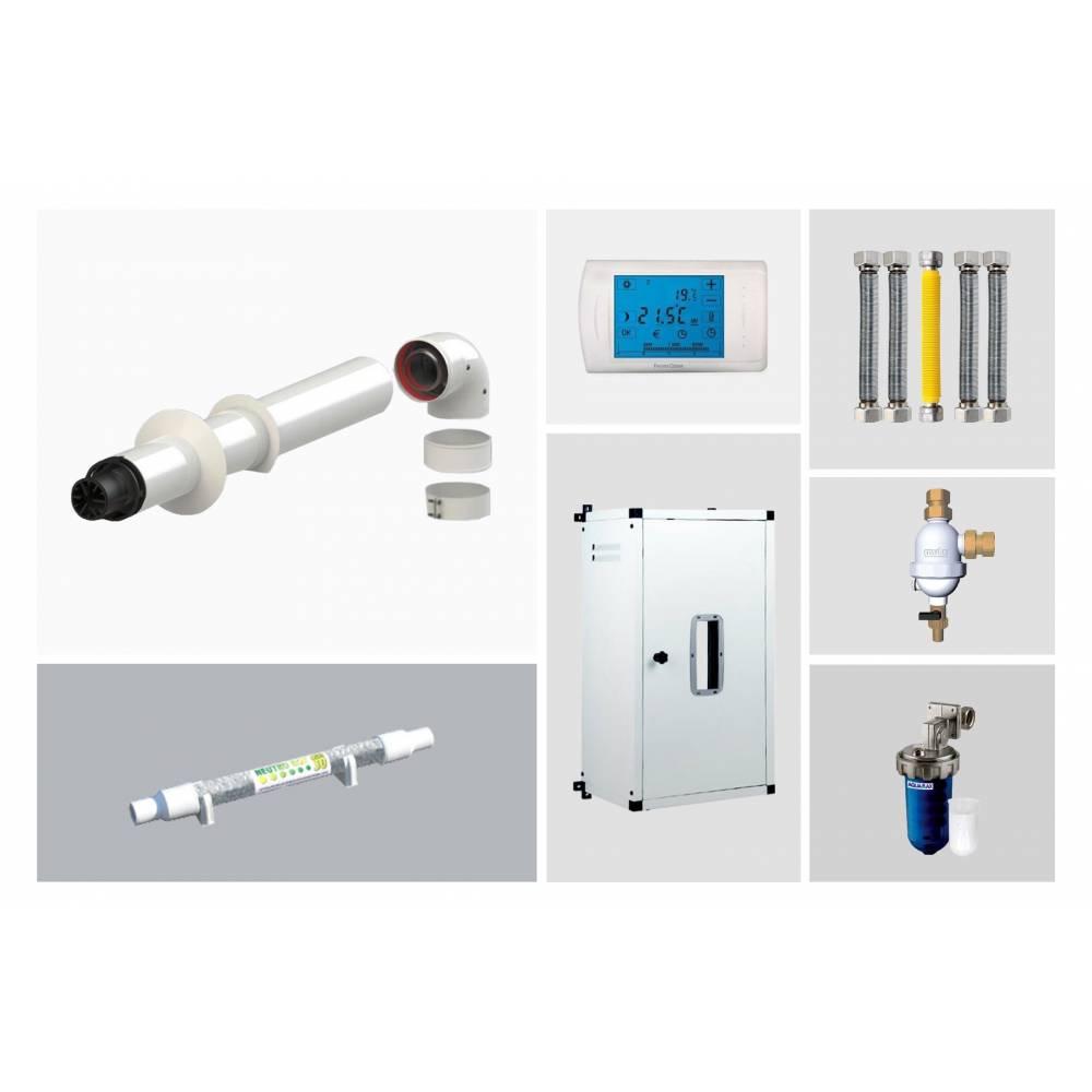 Kit di installazione per caldaia a condensazione universale