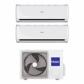 Climatizzatore Haier Tundra 2.0 dual split 9000+12000 btu in R32 2U40S2SC1FA