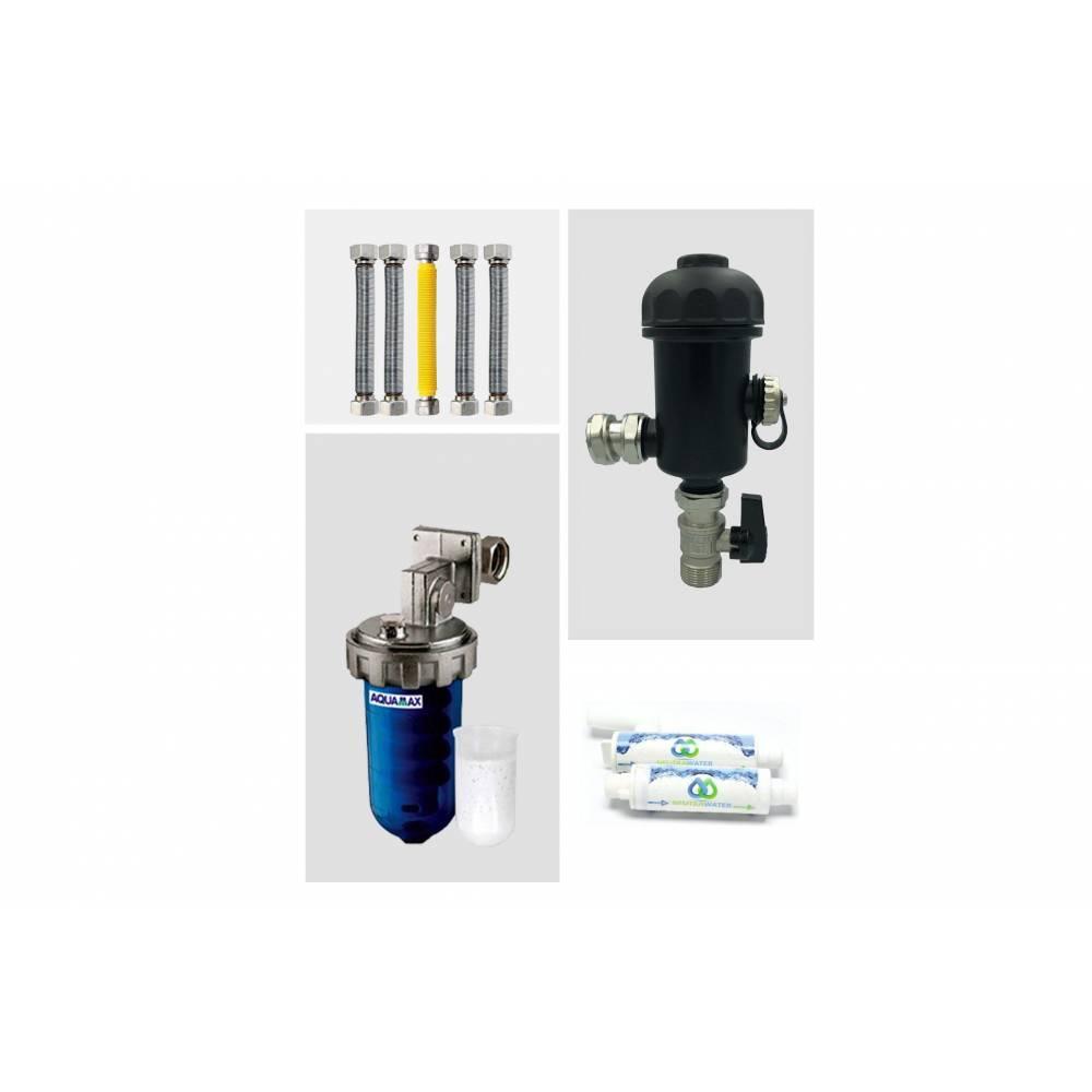 Kit completo per installazione di caldaia a condensazione universale