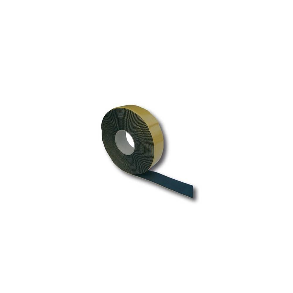 Fascia adesiva neoprene nero per coibentazione climatizzatore condizionatore 10 mt Spessore 3x50 mm
