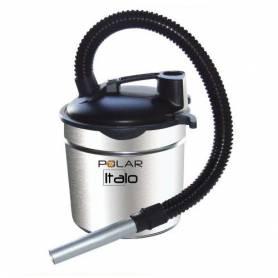Aspiracenere soffiatore Italo per stufa a pellet e caminetto da 800 watt 15 litri