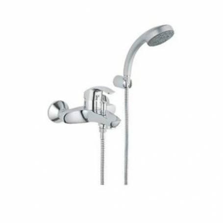Miscelatore monocomando Grohe per vasca-doccia con Tempesta 100 valvola di ritegno incorporata Serie Eurosmart codice 33302001