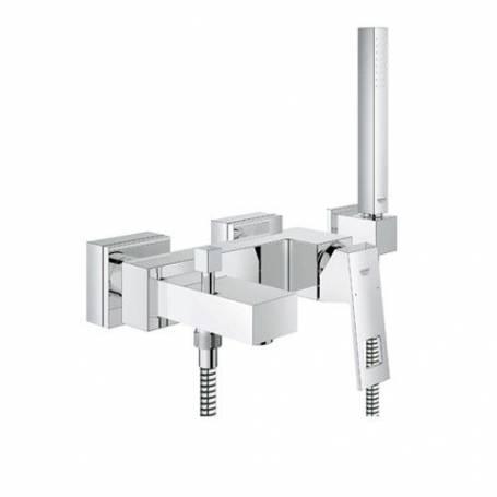 Miscelatore monocomando vasca-doccia Grohe Eurocube 23141000 cromate set doccia manopola