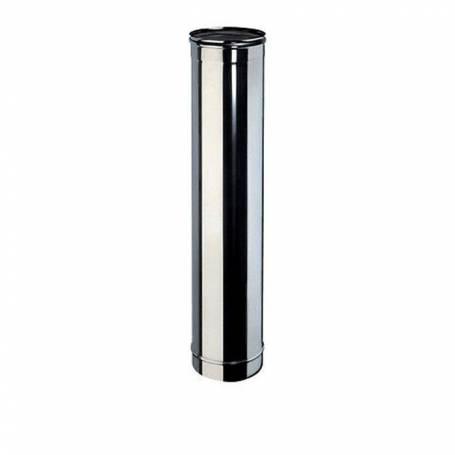 Canna Fumaria Tubo Acciaio Inox AISI 304 MT 1 x 0,5 mm Diametro 130