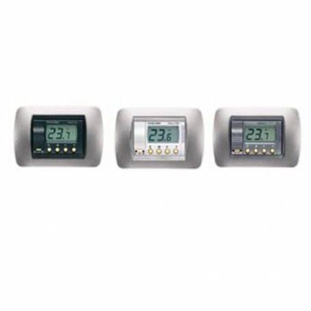 Termostato Ambiente Digitale Elettronico da Incasso Fantini Cosmi C50C a Batteria con Display