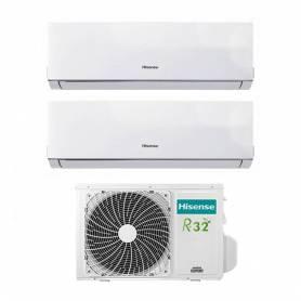 Condizionatore Inverter Hisense New Comfort Dual Split 9+12 9000+12000 Btu 2AMW42U4RRA R-32 A++