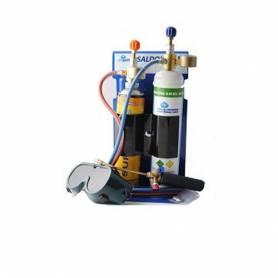 Kit Saldatura Ossigeno Acetilene Ossiacetilenica Portatile Professionale Bombole Ossigeno Saldo Kit Serie SK555