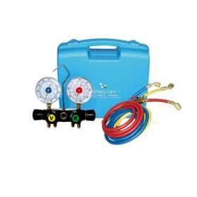 Kit Valigetta manometri per Gas refrigerante R32 e R410a