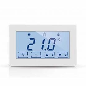 Fantini Cosmi CH120 termostato ambiente a batteria e touchscreen