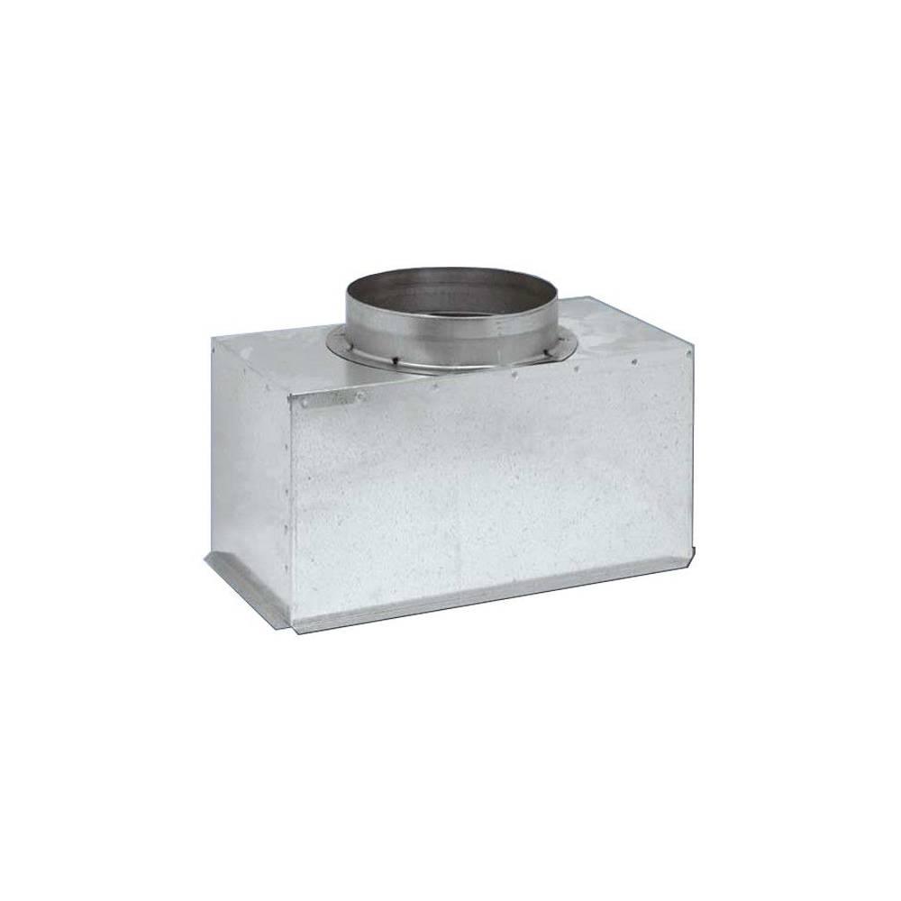 Plenum bocchetta per condizionatore canalizzato in lamiera zincata Tecnosystemi Group PWD100005