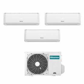 Climatizzatore Energy Pro Hisense trial split 9000+9000+12000 btu inverter con wifi 3AMW62U4RFA